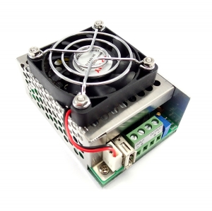 12A 200W High Power DC Buck Converter [4.5-30V to 0.8-28V] +5V USB