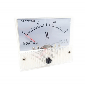 DC Analog Voltmeter 0-30V