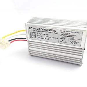 High Voltage DC Step-Down 60-200V to 13.8V 10A 120W