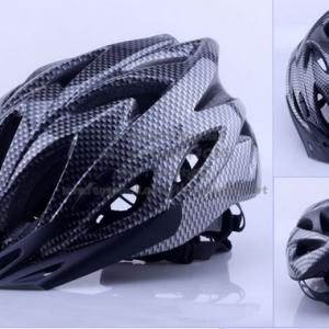 หมวกกันน็อคจักรยาน ลายคาร์บอน งานอินโมล
