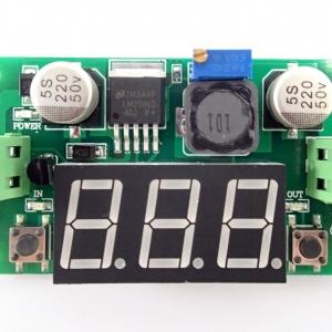 Step-Down LM2596S built-in Voltmeter [4-40V to 1.2-37V] 2A 20W