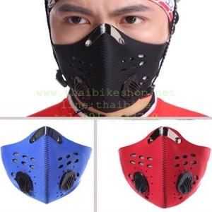 หน้ากากกันฝุ่น 03 แบบมีตัวกรองอากาศ