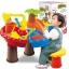 โต๊ะเล่นทรายสดใส ทรงกลม รูปต้นมะพร้าว พร้อมเก้าอี้นั่ง 1 ตัว และ มาพร้อมอุปกรณ์เล่นทรายต่างๆ รวมจำนวน 22 ชิ้น thumbnail 1
