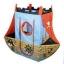 เต็นท์ บ้านบอลเรือโจรสลัด แสนสนุก พร้อมลูกบอลในกล่อง 24 ลูก ขนาดสินค้า 170*70*135 เซนติเมตร thumbnail 2