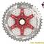 เฟือง SUNRACE รุ่น CSMX8 silver/red 11 SPD ขนาด 11-46 thumbnail 2