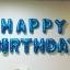 ลูกโป่งฟอยล์ HAPPY BIRTHDAY สีฟ้า thumbnail 1