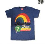 เสื้อยืดชาย Lovebite Size M - Rainbow