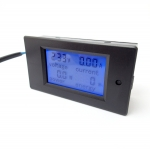 AC Digital LCD Volt/Amp/Watt Energy Meter 100A with CT