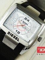 นาฬิกา Diesel Bugout หน้าปัดดำขอบทอง Lady สายหนังแท้ งานเกรด Mirror เทห์สุดๆ