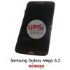 ขายส่ง หน้าจอชุด Samsung Galaxy Mega 6.3 แบบไม่มีขอบ สีดำ งานแท้