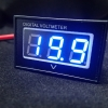 DC Waterproof Digital Volt Meter 15-120V Two-Wire [Blue ]
