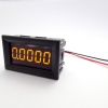 "DC Digital Ammeter 5 digits 0-3A Built-in Shunt 036"" [Yellow]"