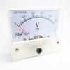 DC โวลต์มิเตอร์แบบเข็ม Analog 0-500V