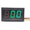 """DC Digital Voltmeter 0-600V 3-wire 0.56"""" [Green]"""
