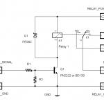 วงจรขับรีเลย์ - DC Relay Driver 5V/12V/24V