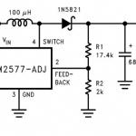 วงจรเพิ่มแรงดัน DC ด้วยไอซีเบอร์ LM2577
