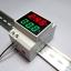 AC 2-in-1 Voltmeter / Ammeter 200-450V 1-99A DIN Rail Mount thumbnail 1