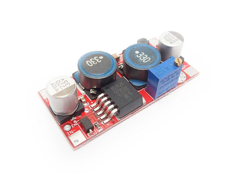DC Buck-Boost Converter [5-32V to 1.2V-35V] 1.5A 20W