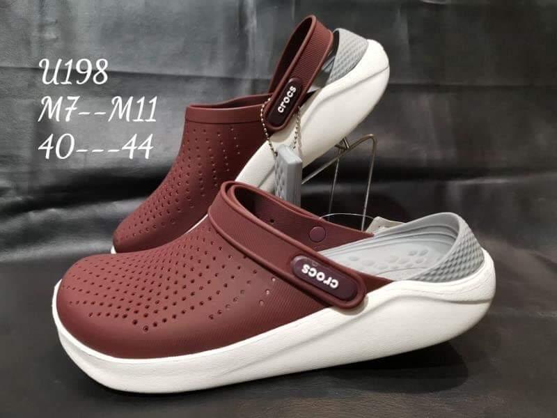 รองเท้า Crocs รุ่น LiteRide สีแดง